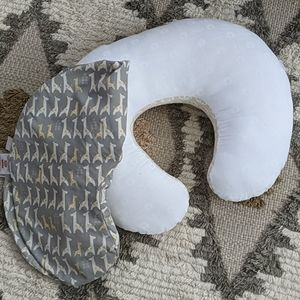 Boppy pillow and pillow case neutral
